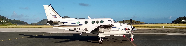 Bode Aviation Aircraft N775DM at Beef Island