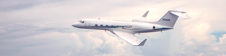 Helidosa Jet G400 in the sky