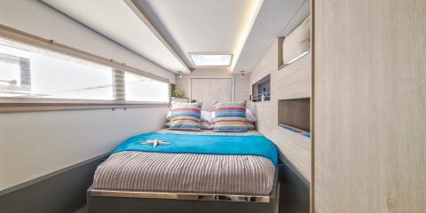 Moorings 4500 Cabin interior