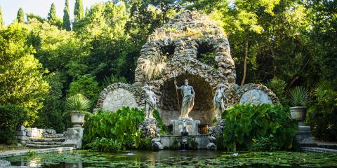 The Trsteno Arboretum in Croatia