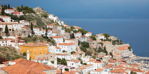 Athens Zea hillside