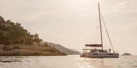 Athens Zea Sailing catamaran