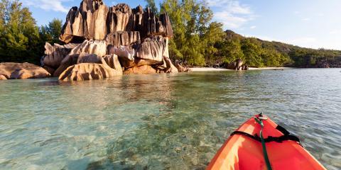 Kayaking in Seychelles
