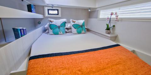 Moorings 4800 cabin interior