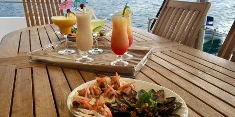 Lunch in Martinique