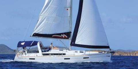 Moorings 45.4 starboard