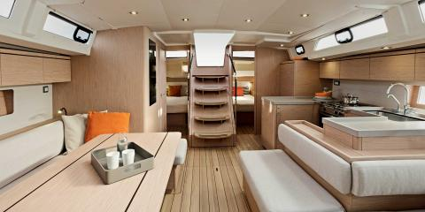 The Moorings 52.3 Galley