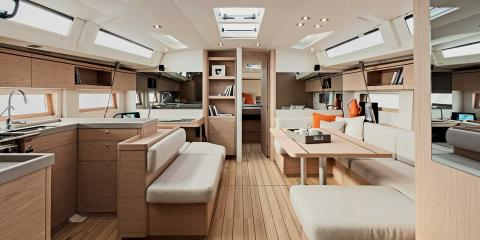 The Moorings 52.3 Interior