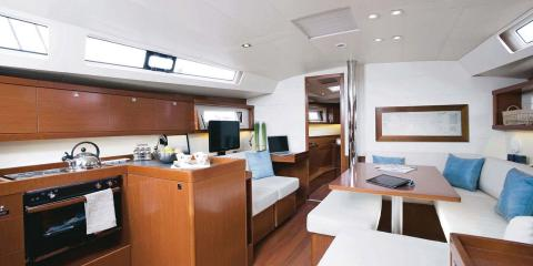 Moorings 45 interior