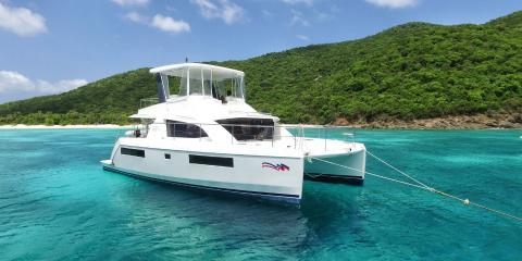 Moorings 434PC moored