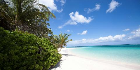Flamenco Beach on Culebra Island in Puerto Rico