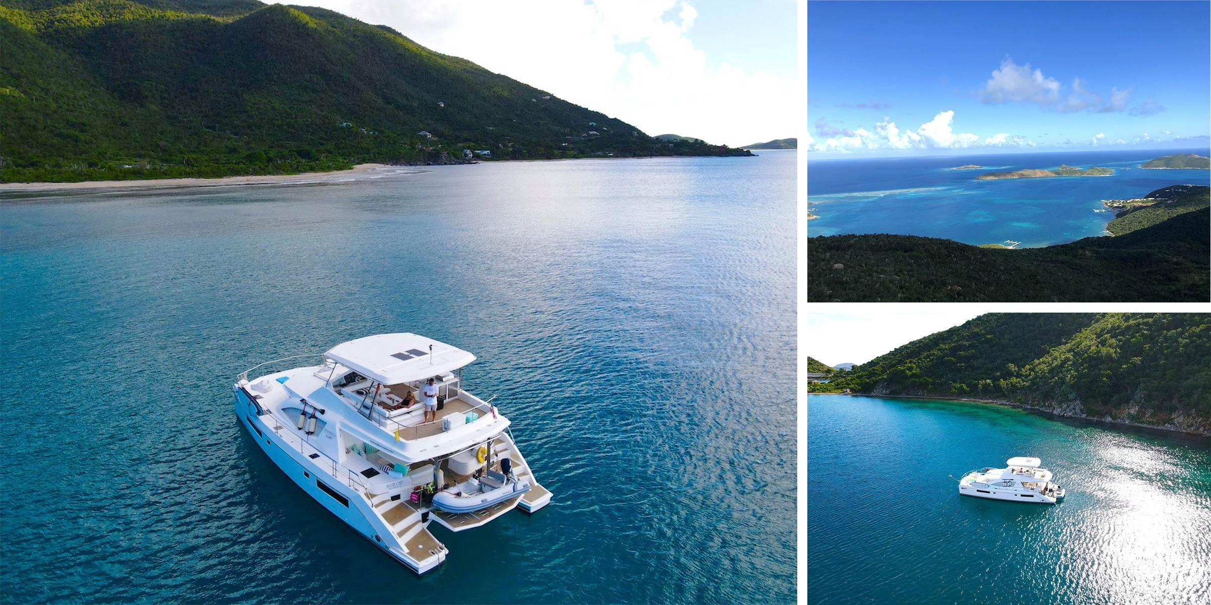 Crewed yacht 514PC Allie Cat in the BVI