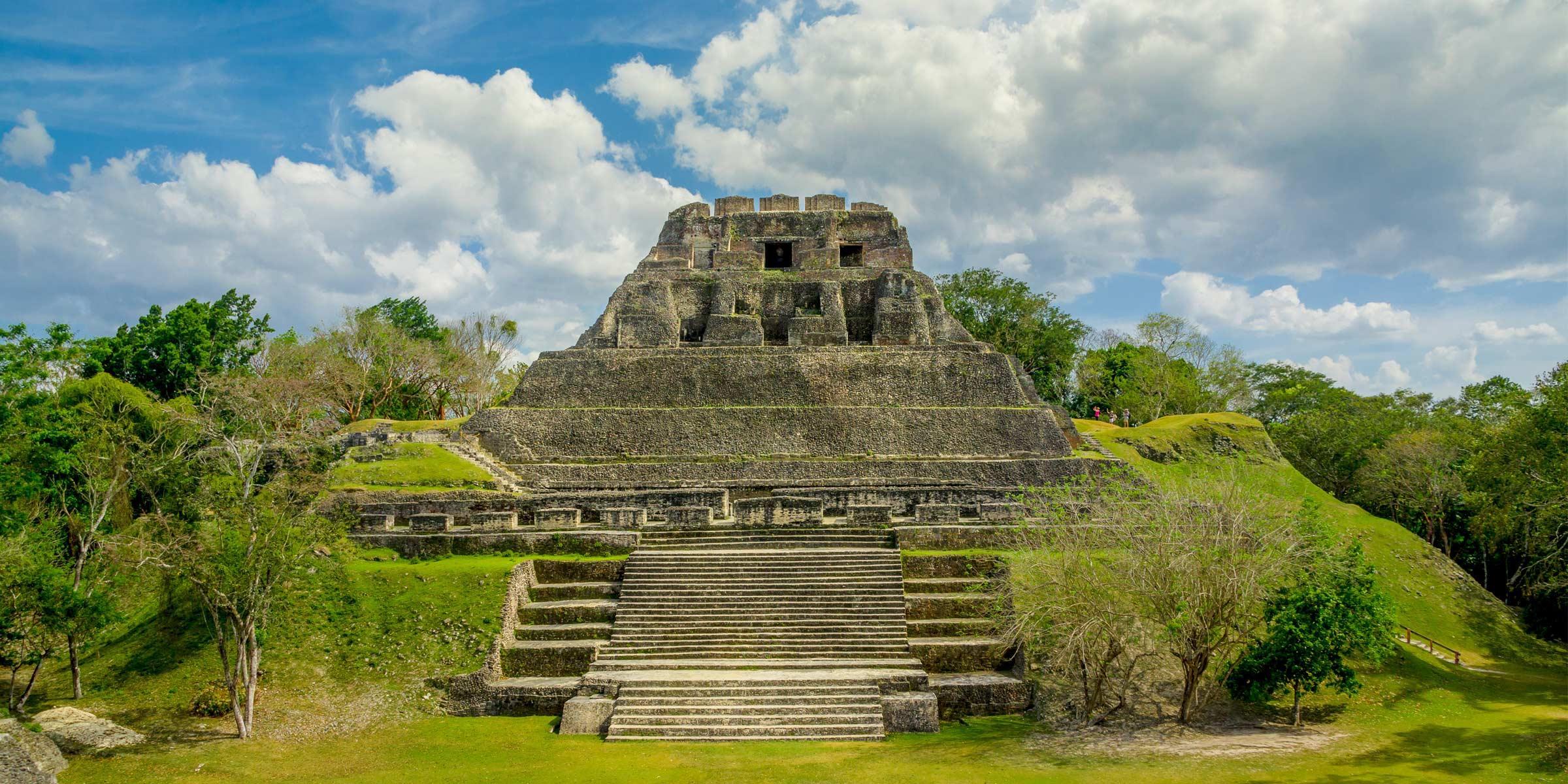 Xunantunich ruins in Belize