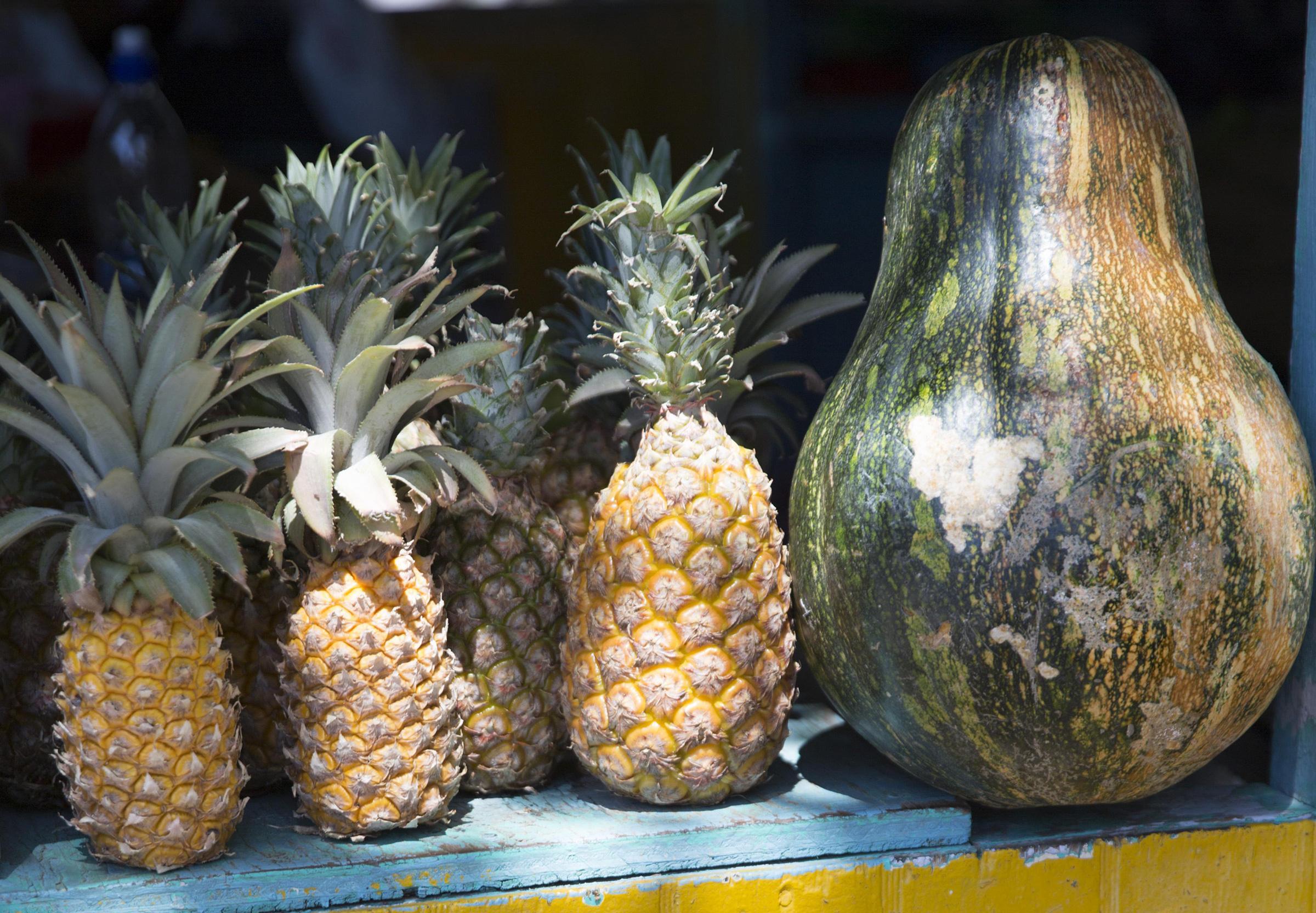 Pineapple in Antigua